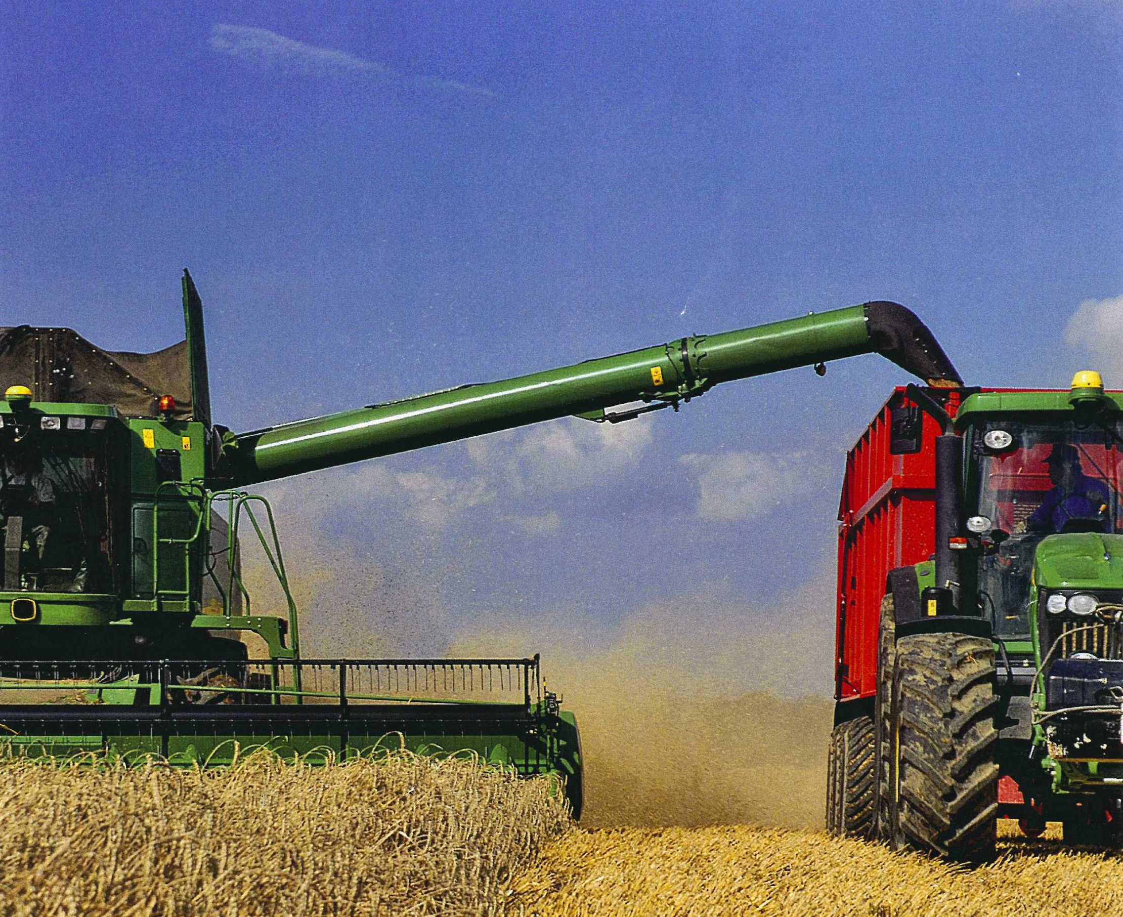 Mähdrescher mit Agro Power