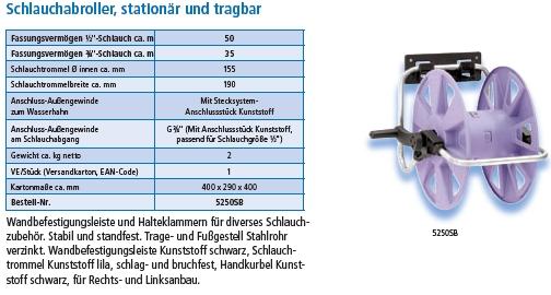 Schlauchabroller 5205