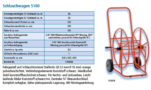 Schlauchwagen 5100