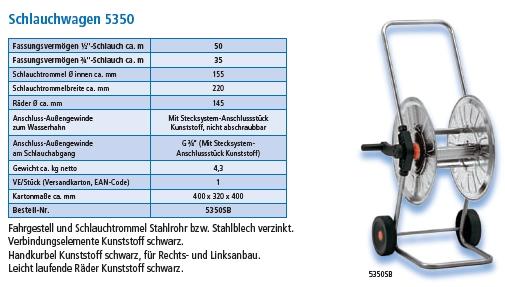 Schlauchwagen 5350