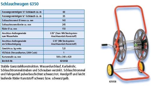 Schlauchwagen 6350